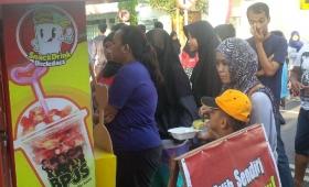 Waralaba makanan terbaru snack drink uncledazs