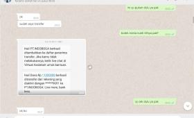 Alhamdulillah trf uncledazs paket tidak lengkap 082310752299