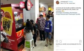 Peluang Usaha chicken pop corn Uncledazs 0823 1075 2299